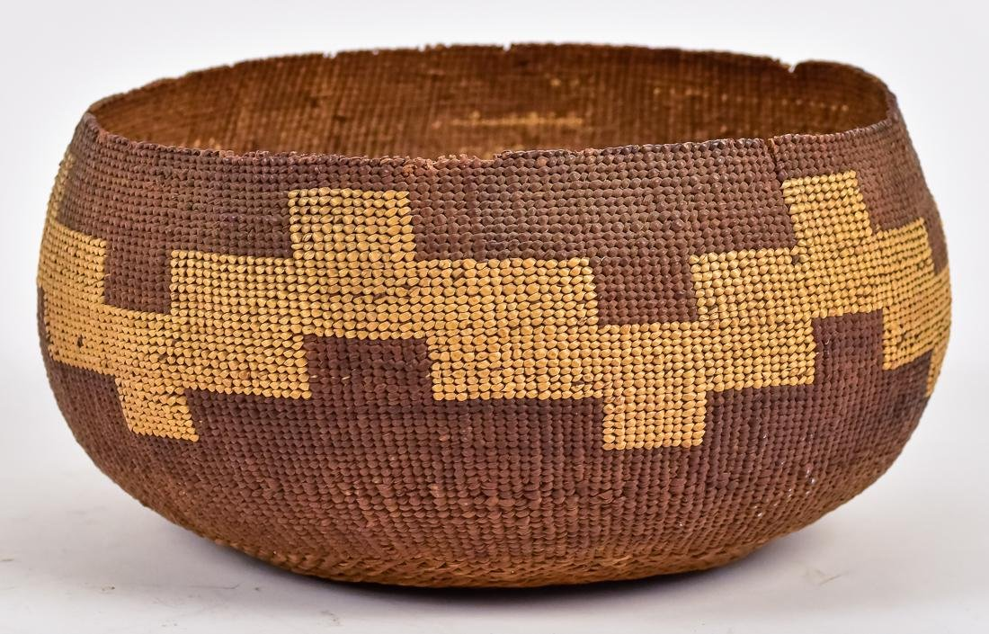 9 1/2' Klanath/Hupa California Native American Basket