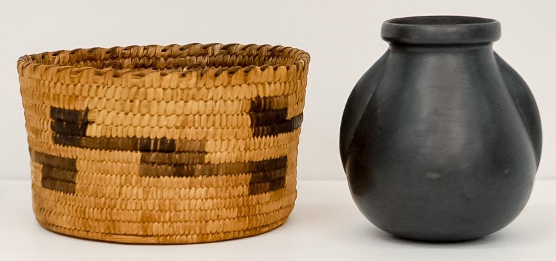 South Western Indian Basket & Pottery