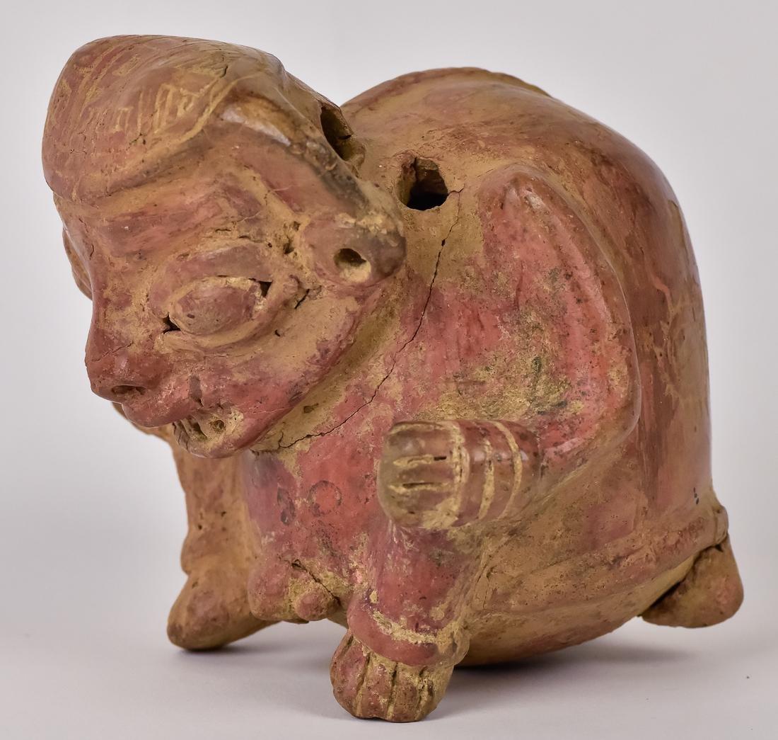 Pre Columbian Nicoya Culture Pottery Figurine