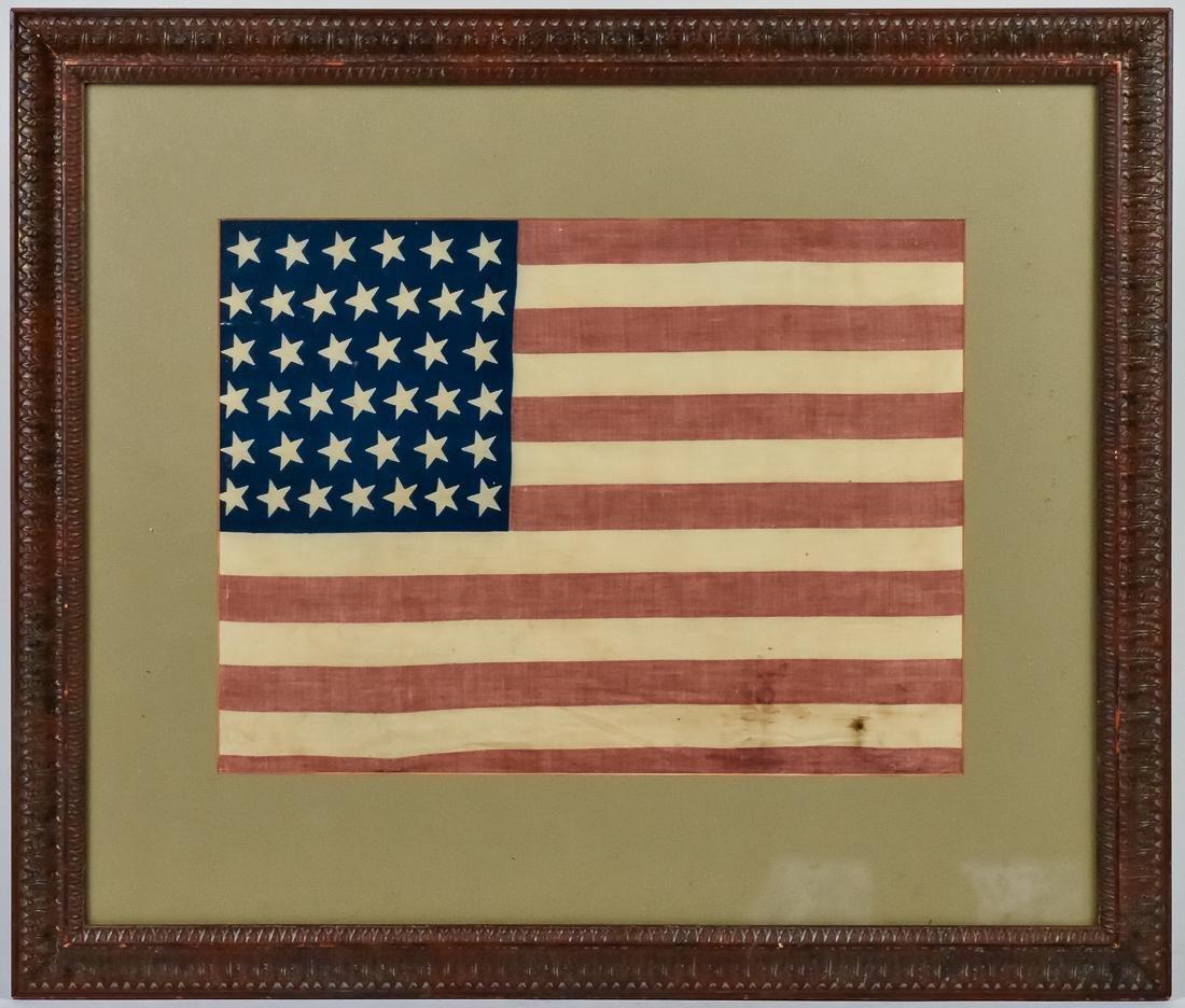 Rare 39 Star U.S. Flag