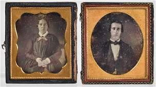 Two Daguerreotypes