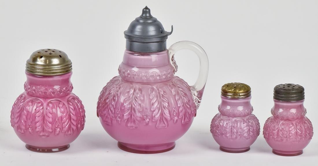Victorian Art Glass Set