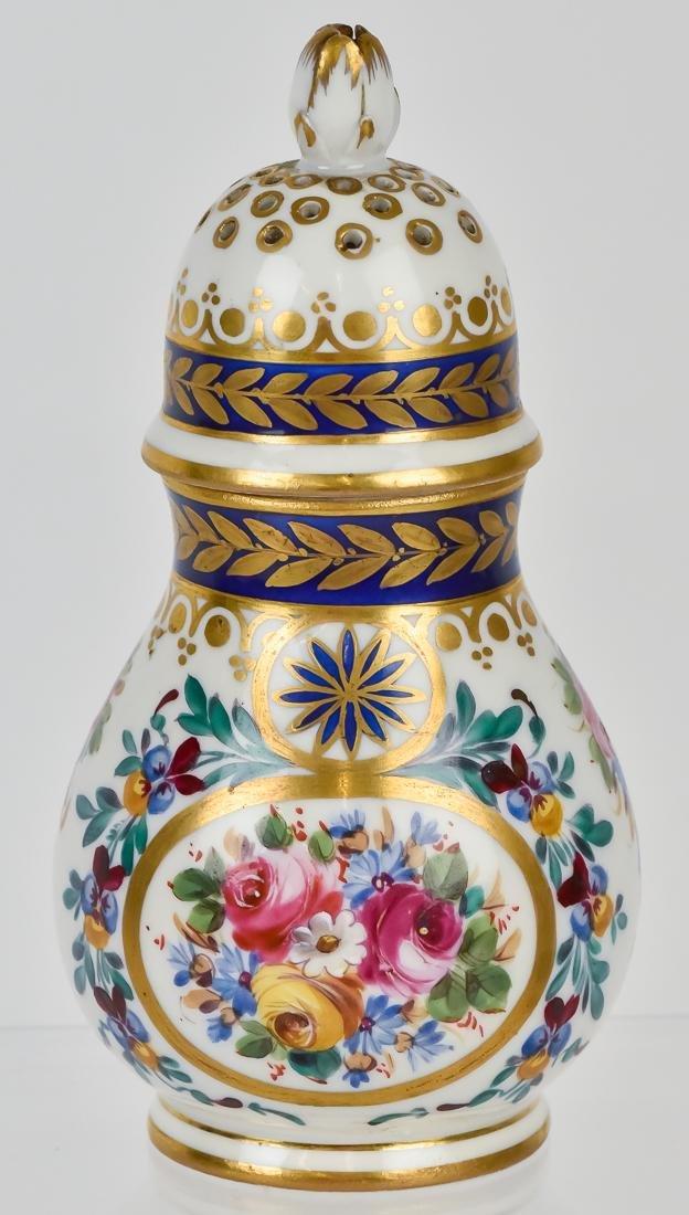 Rare Sevres Porcelain Sugar Shaker