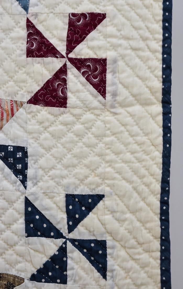 Early Pieced Quilt - 4