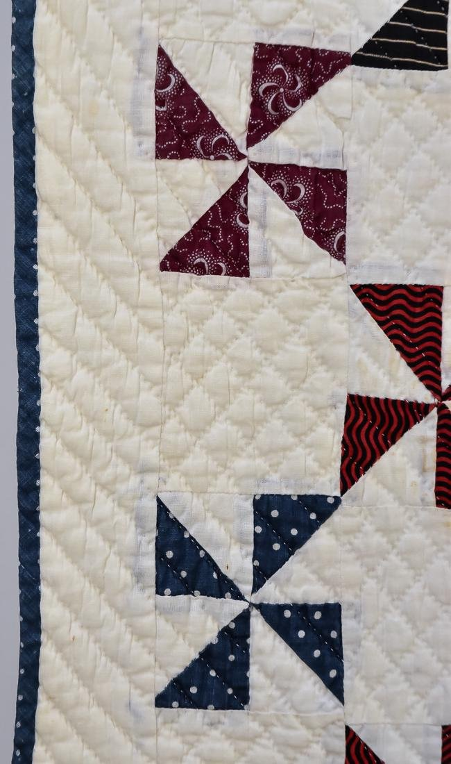 Early Pieced Quilt - 5