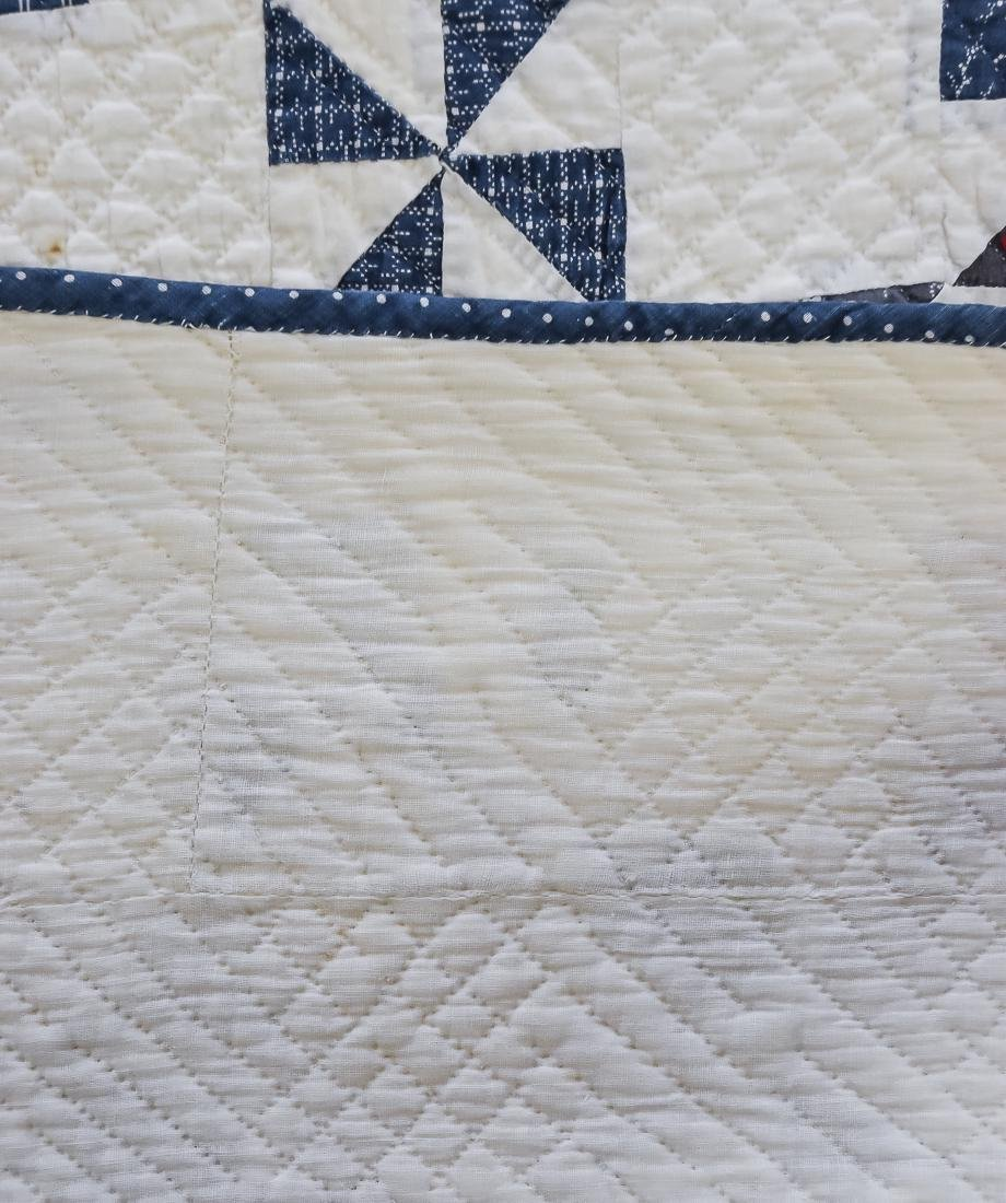 Early Pieced Quilt - 7