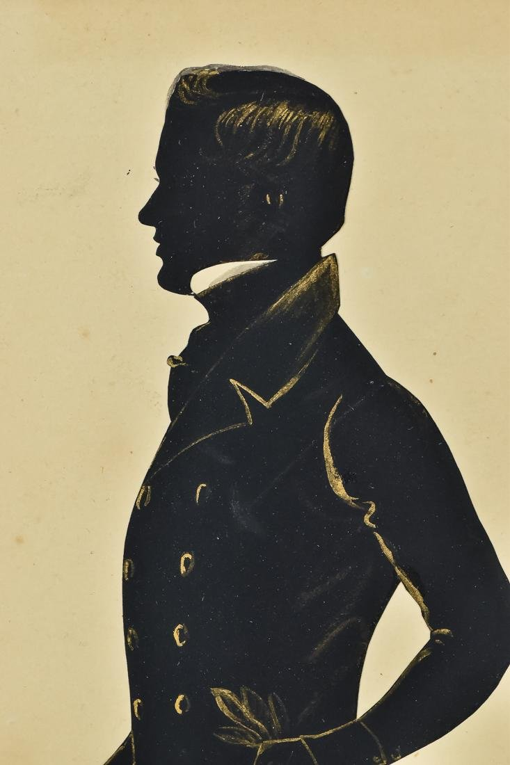Silhouette of Young Gentleman - 3