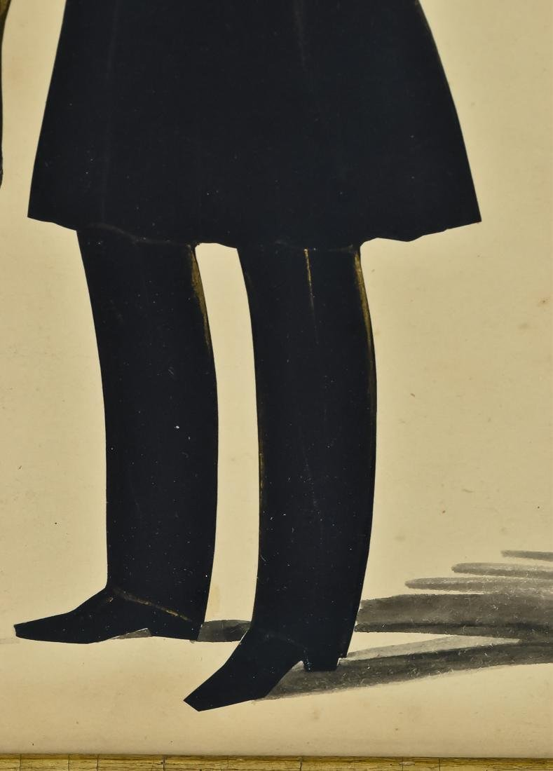 Silhouette of Young Gentleman - 5