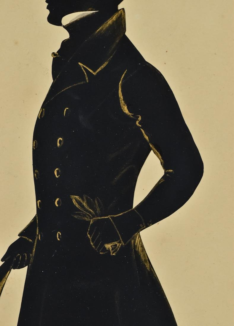 Silhouette of Young Gentleman - 6