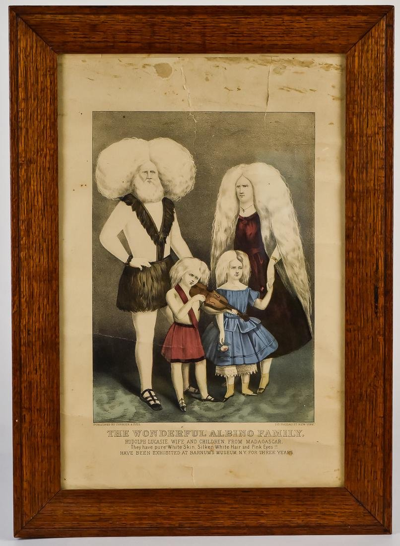 Unusual Currier & Ives Litho