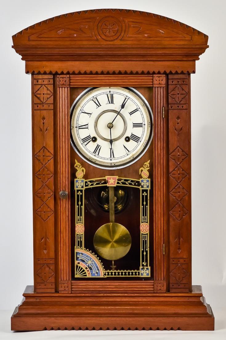 Rare Waterbury Shelf Clock