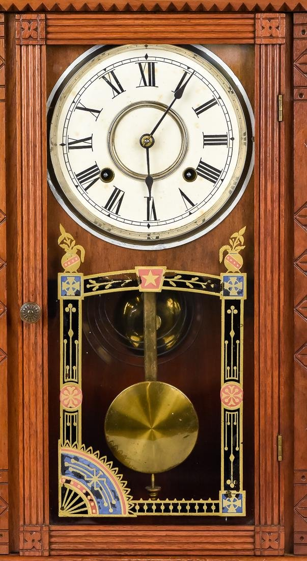 Rare Waterbury Shelf Clock - 2