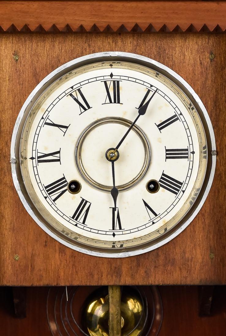 Rare Waterbury Shelf Clock - 4