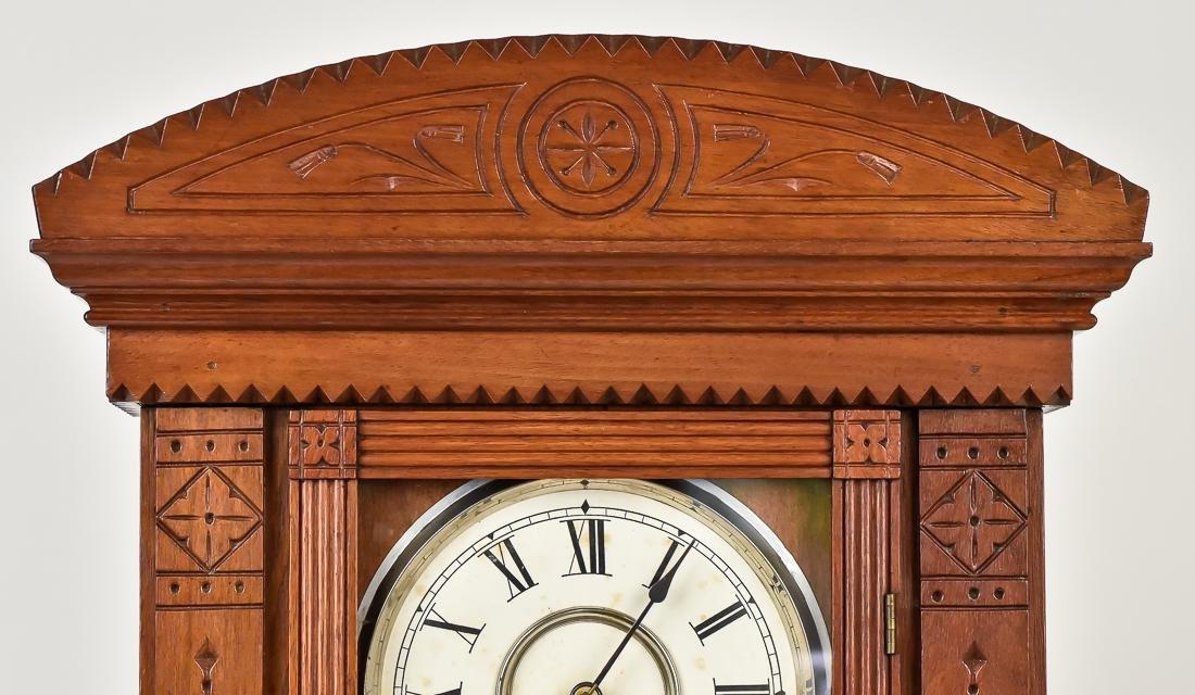 Rare Waterbury Shelf Clock - 8