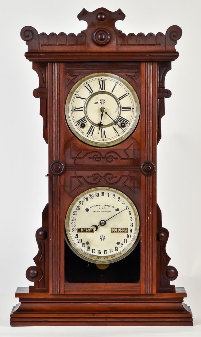 Waterbury Calendar Clock No. 44