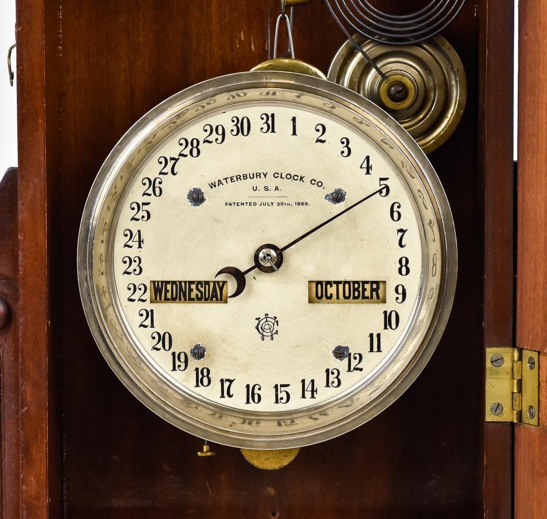 Waterbury Calendar Clock No. 44 - 5