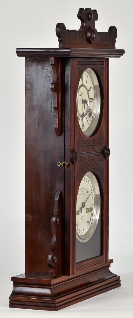 Waterbury Calendar Clock No. 44 - 6