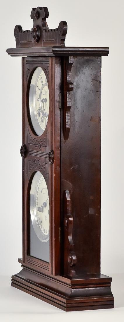 Waterbury Calendar Clock No. 44 - 7