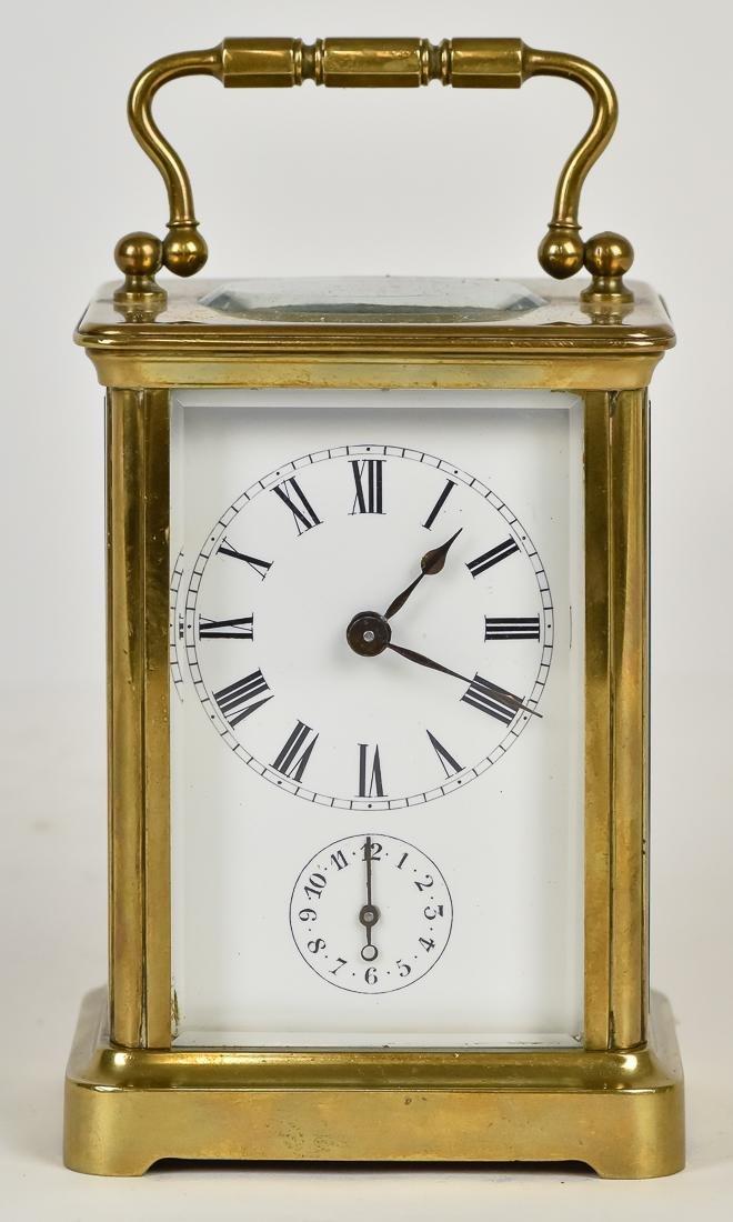 Fine Brass Carriage Clock
