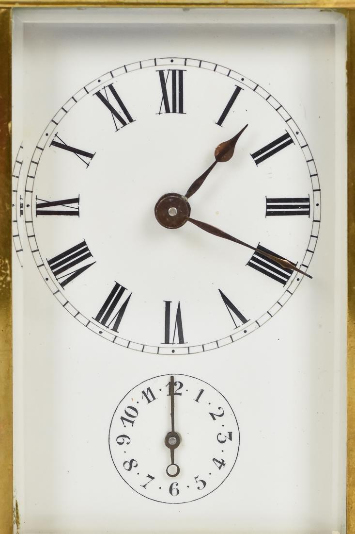 Fine Brass Carriage Clock - 2