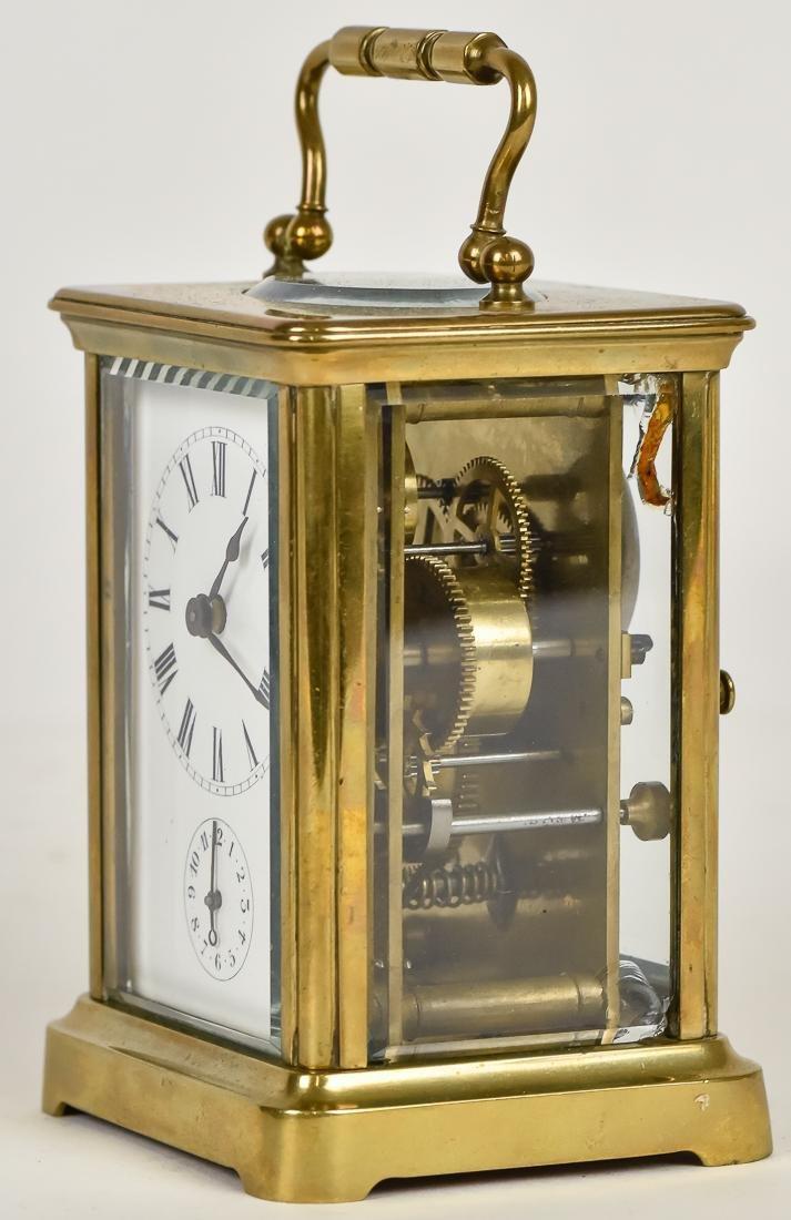 Fine Brass Carriage Clock - 3