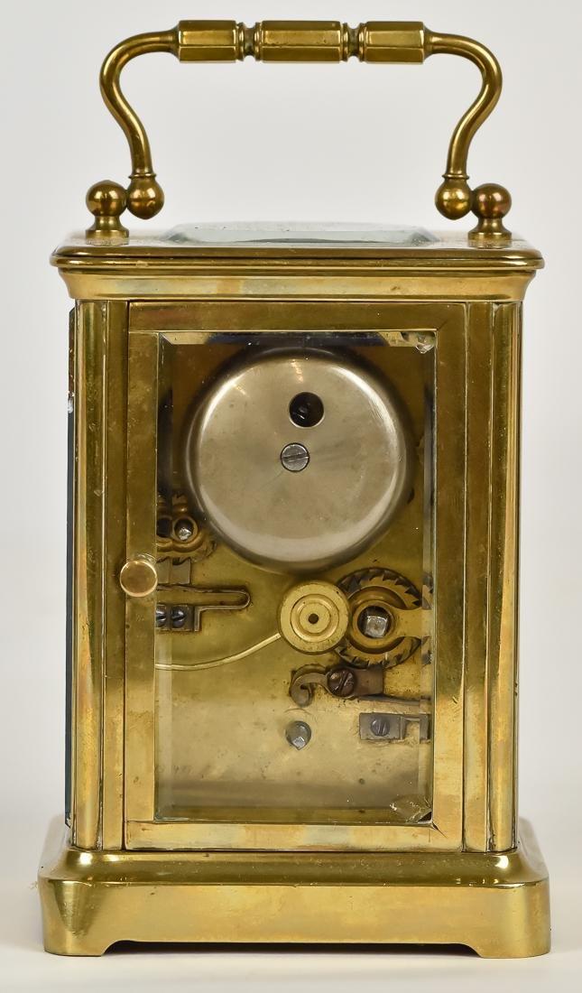 Fine Brass Carriage Clock - 5