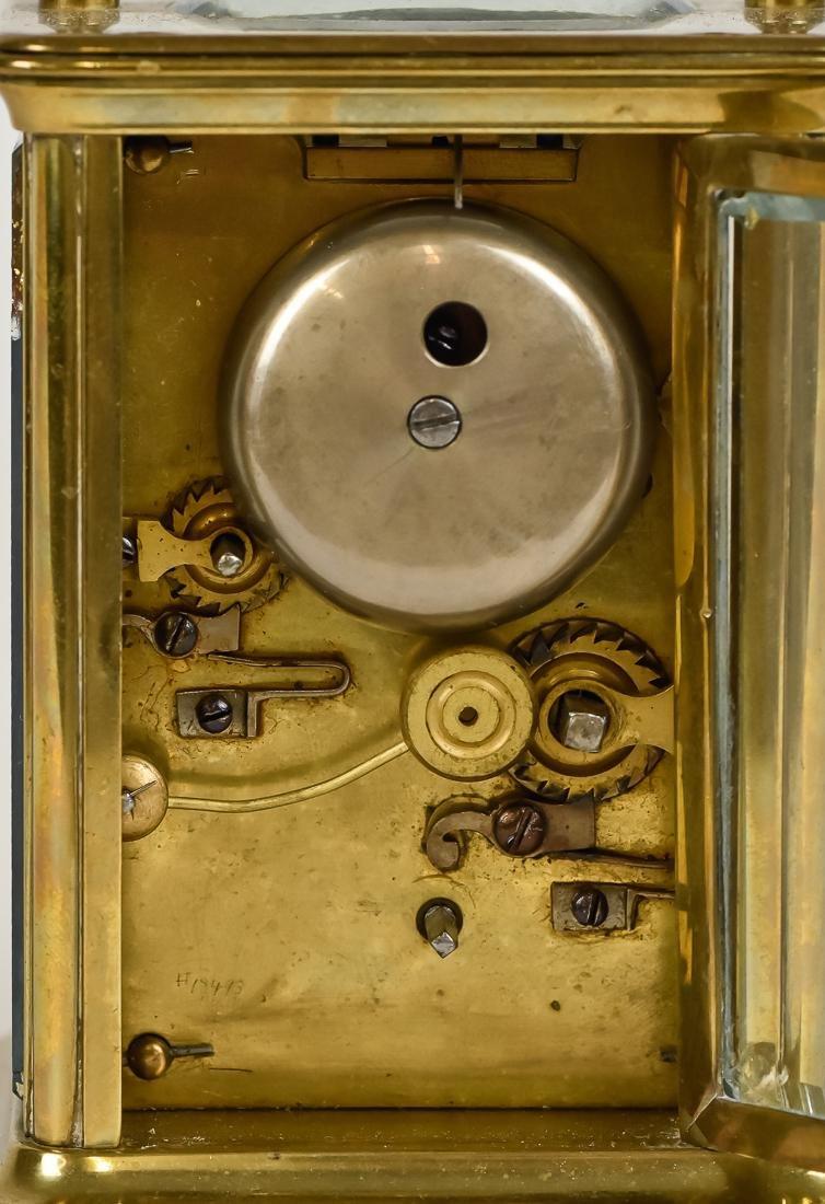 Fine Brass Carriage Clock - 6