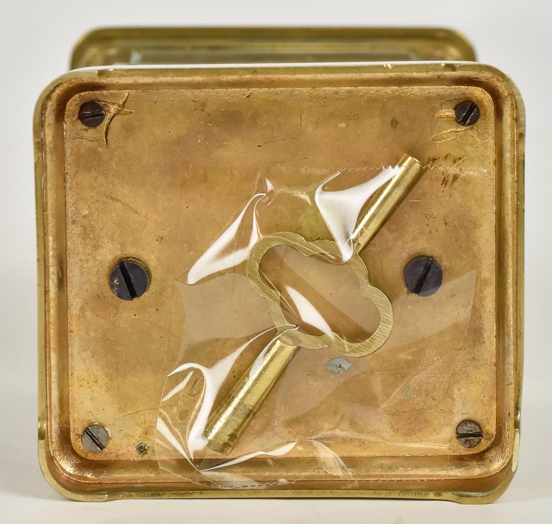 Fine Brass Carriage Clock - 8