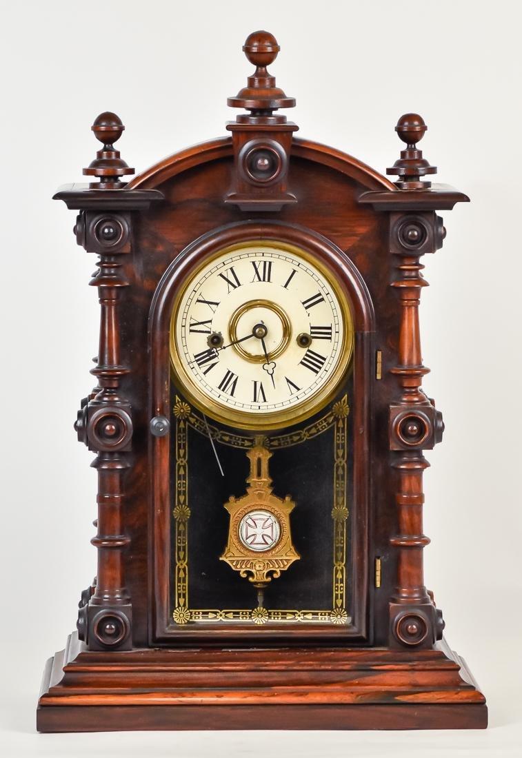 Welch Patti V.P. Rosewood Clock