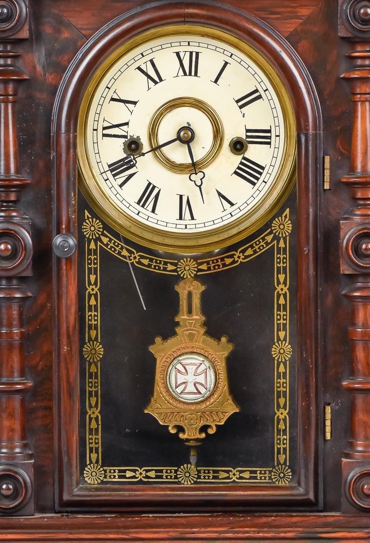 Welch Patti V.P. Rosewood Clock - 2