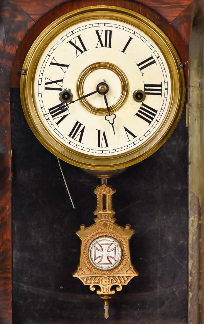 Welch Patti V.P. Rosewood Clock - 3