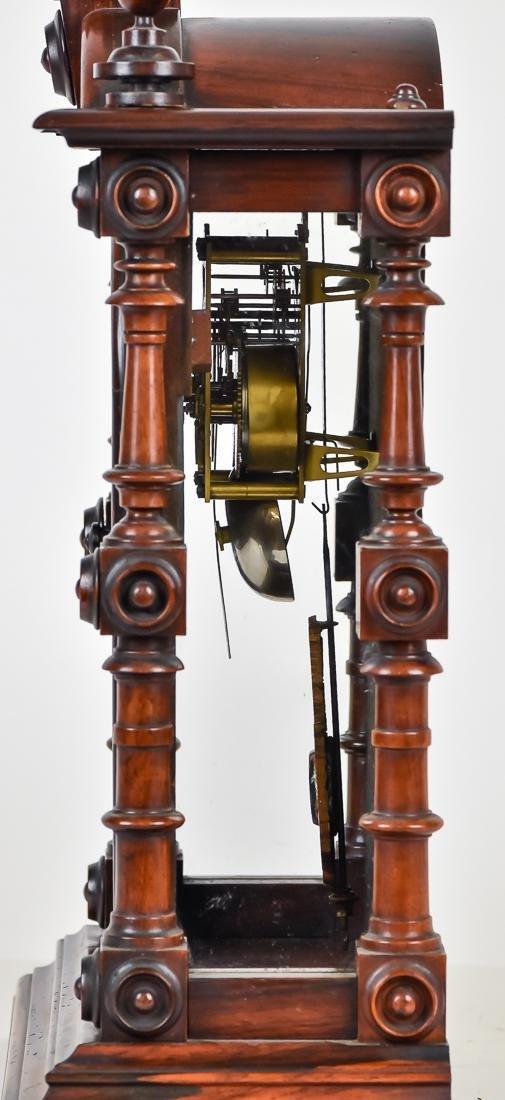 Welch Patti V.P. Rosewood Clock - 5