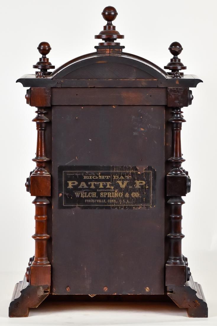 Welch Patti V.P. Rosewood Clock - 9