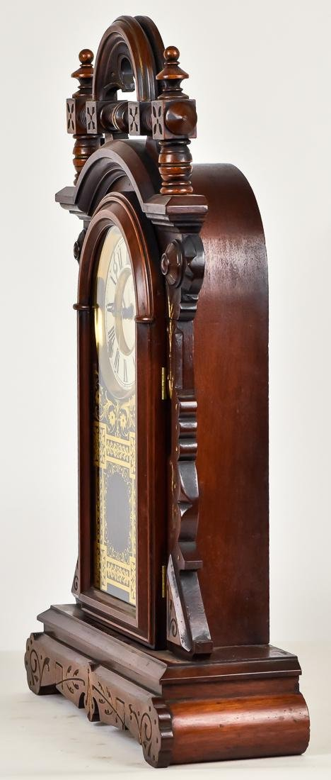 F. Kroeber Walnut Shelf Clock - 8