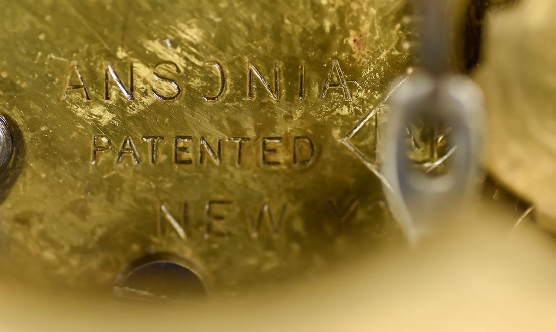 Ansonia Crystal Regulator Clock - 10