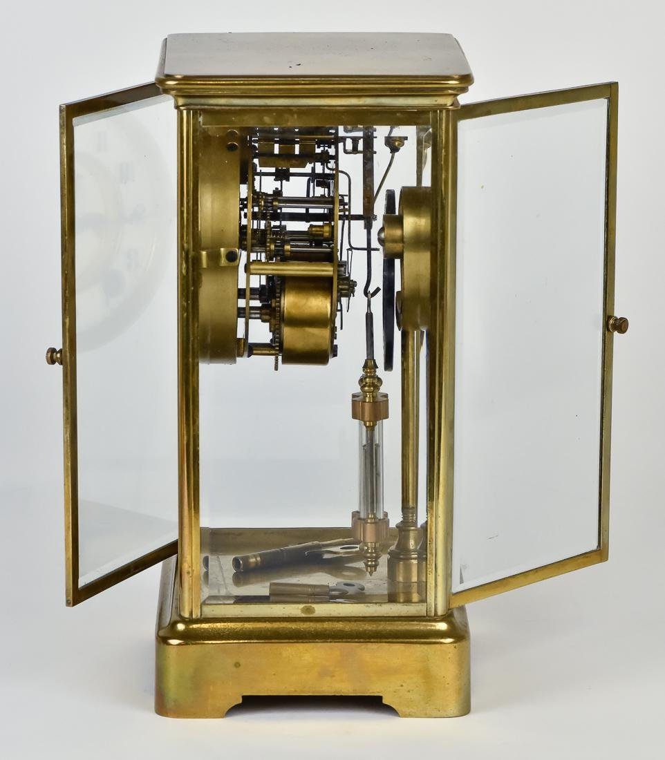 Ansonia Crystal Regulator Clock - 7