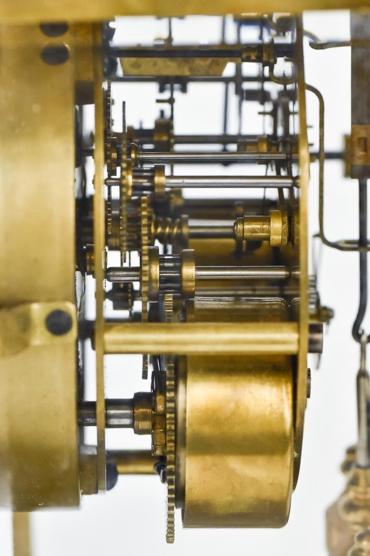 Ansonia Crystal Regulator Clock - 8