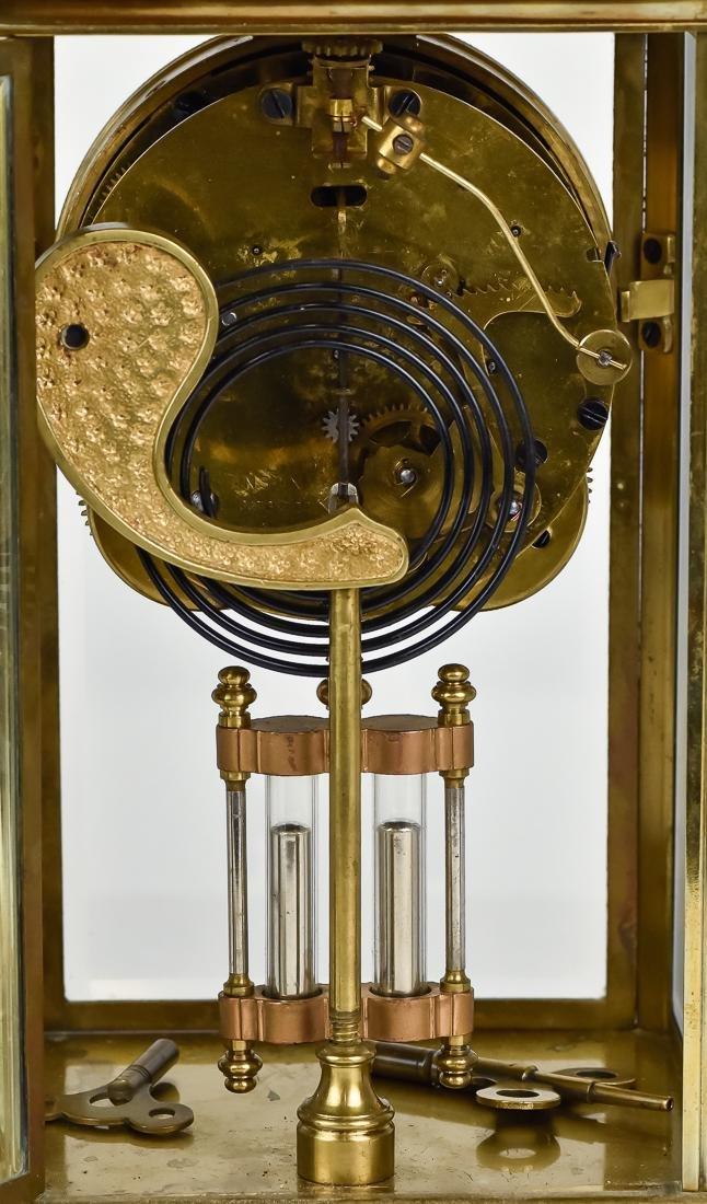 Ansonia Crystal Regulator Clock - 9