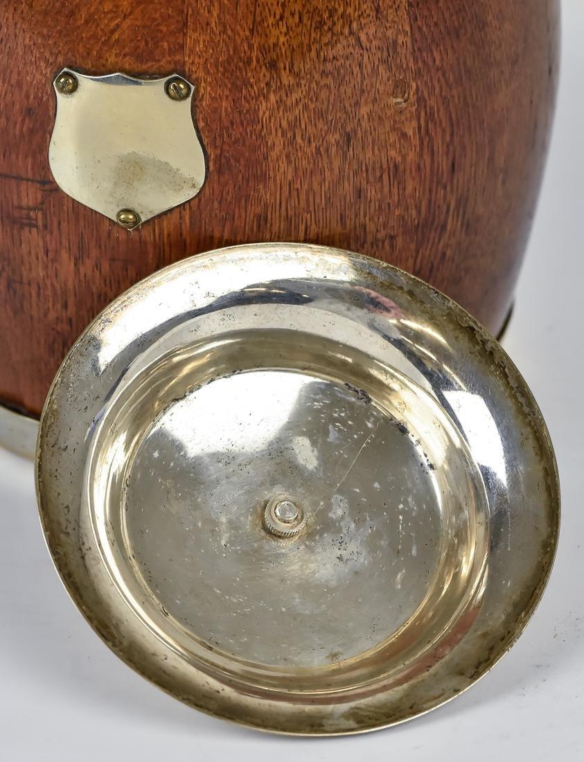 Two Oak Biscuit Jars - 8