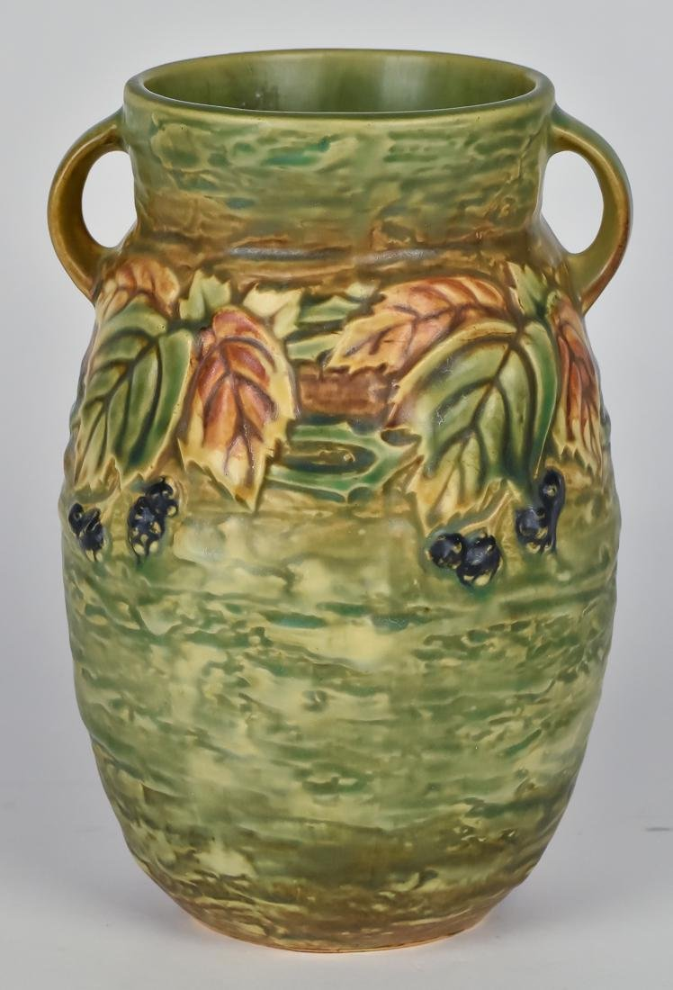 Roseville Blackberry Vase