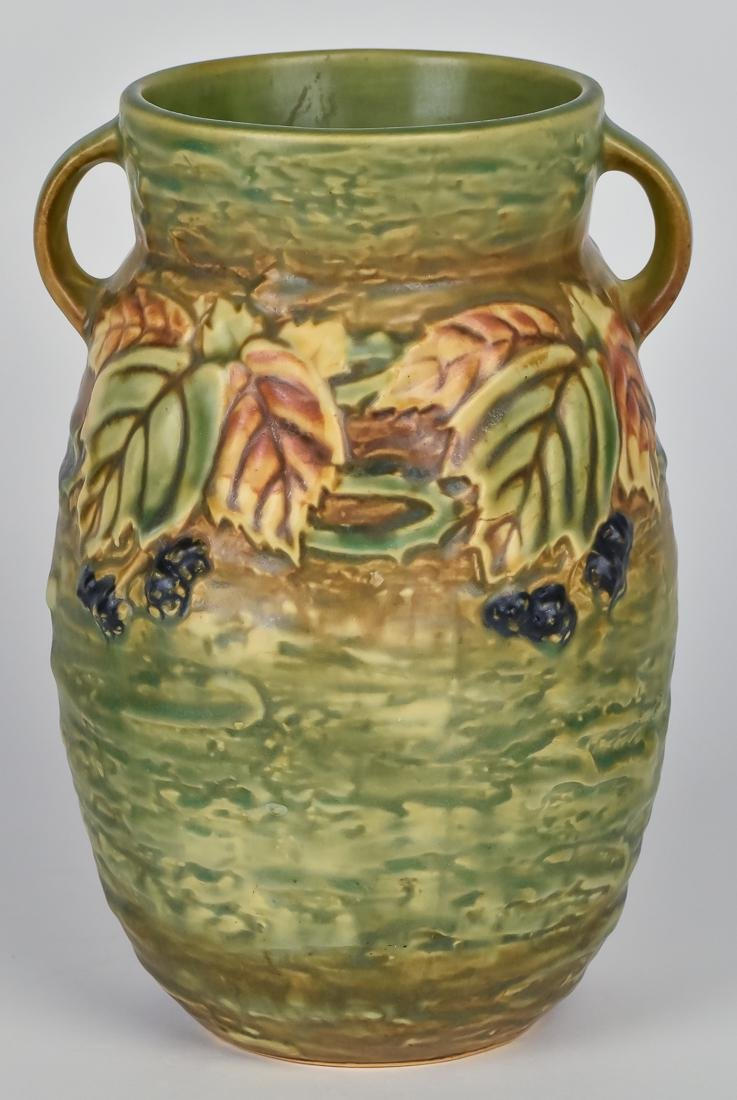 Roseville Blackberry Vase - 3