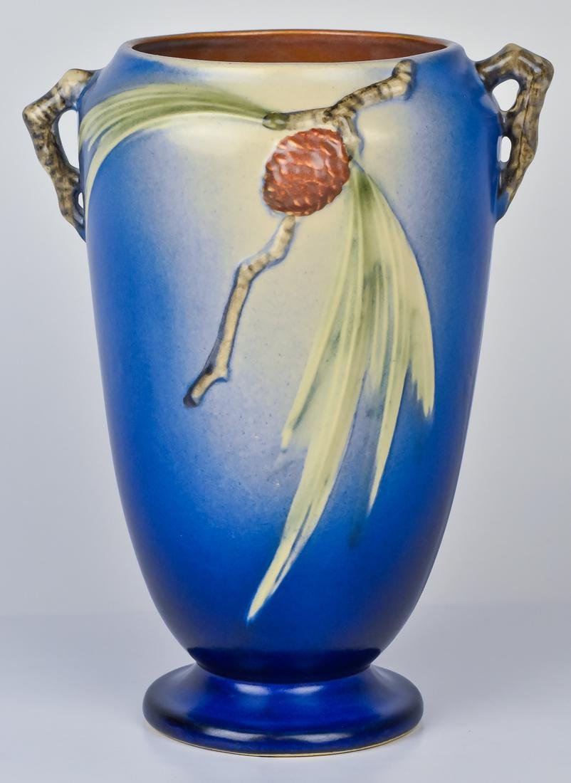 Roseville Pinecone Vase
