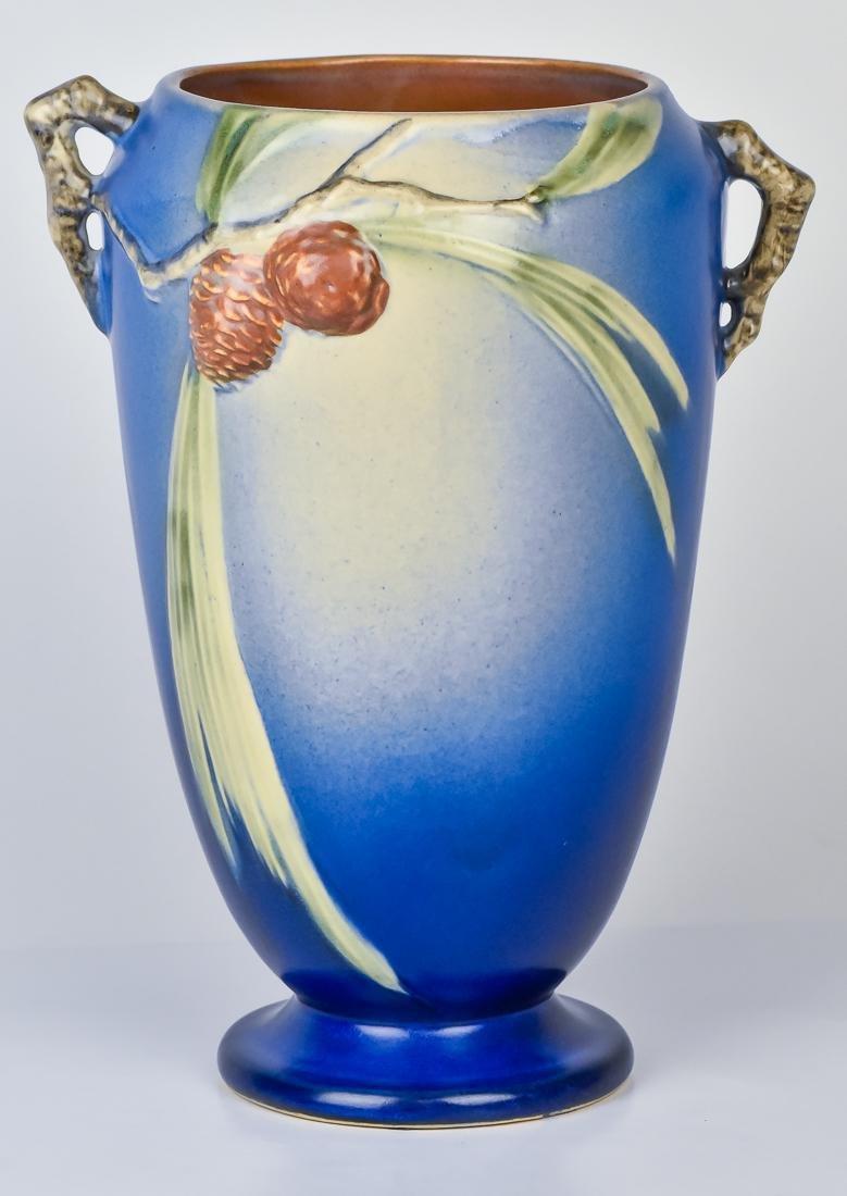 Roseville Pinecone Vase - 2