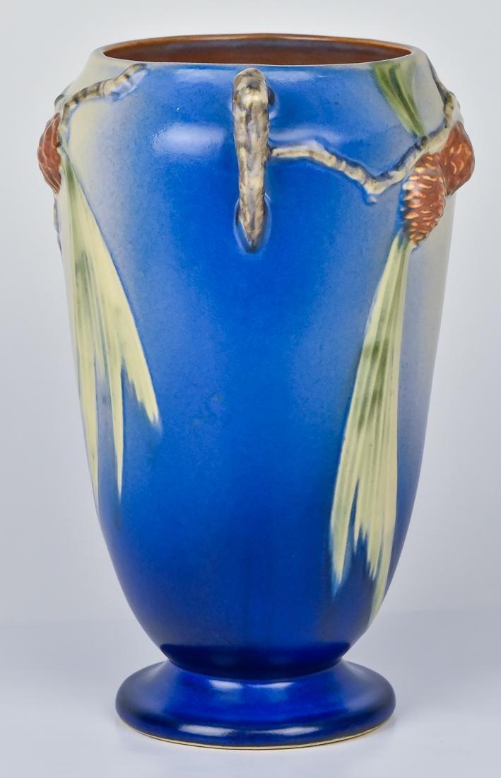 Roseville Pinecone Vase - 4