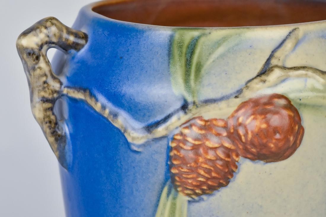 Roseville Pinecone Vase - 6