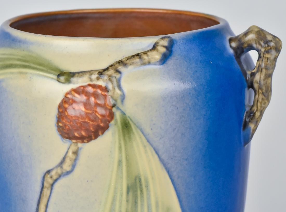 Roseville Pinecone Vase - 7