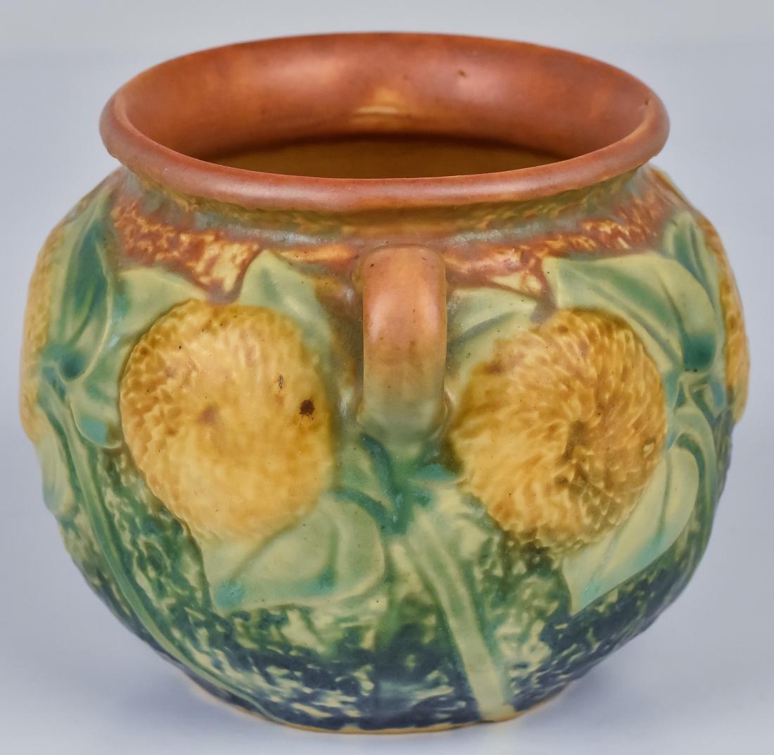 Roseville Sunflower Vase - 4