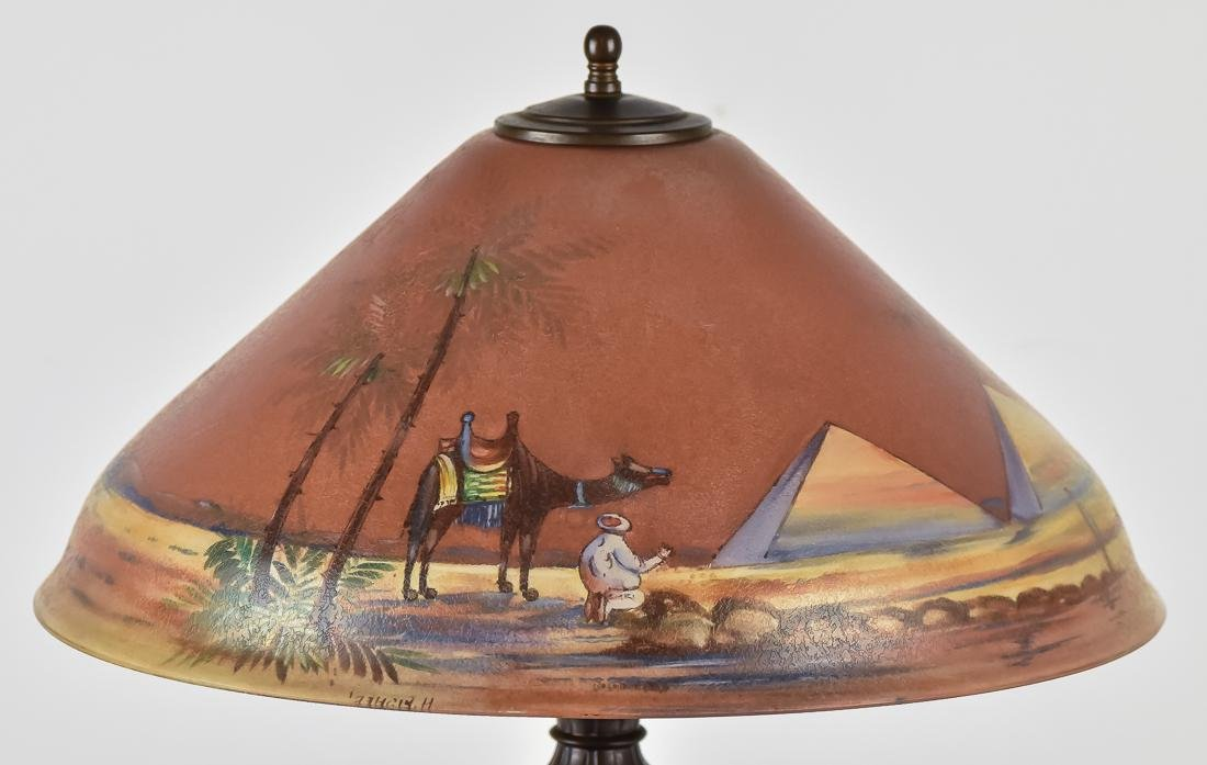 Pairpoint Reverse Painted Table Lamp - 2