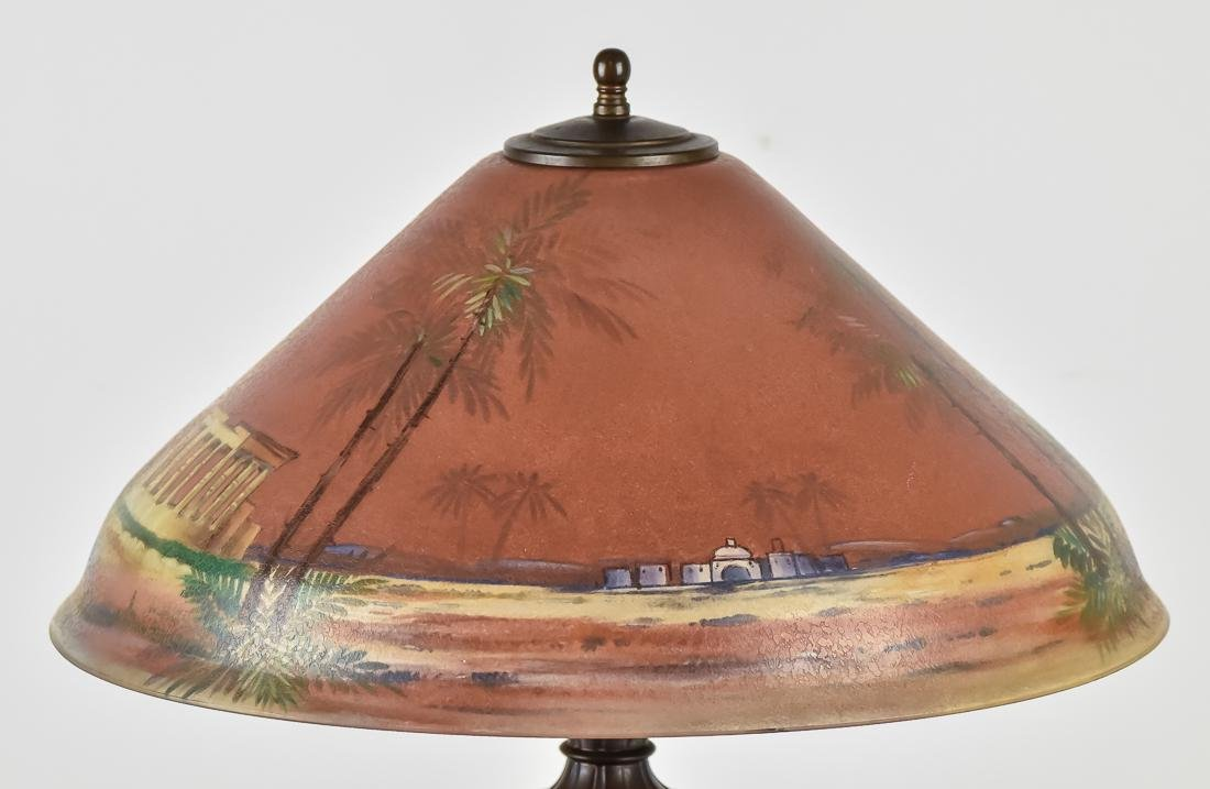 Pairpoint Reverse Painted Table Lamp - 3