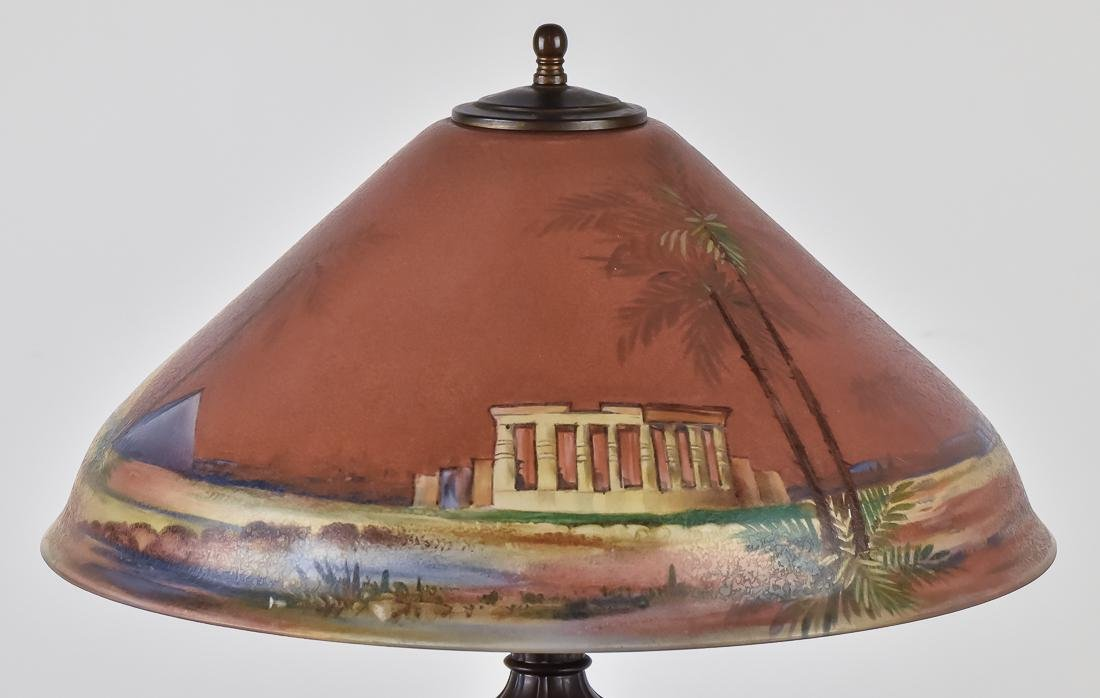Pairpoint Reverse Painted Table Lamp - 4